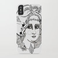 sweden iPhone & iPod Cases featuring Christina of Sweden by Adrienne S. Price