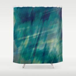 Submerge Aqua Shower Curtain