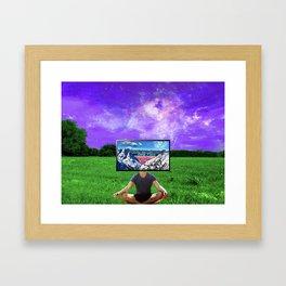 Visual Mind Framed Art Print
