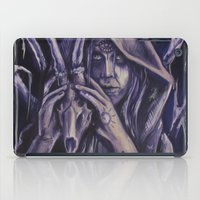 witch iPad Cases featuring witch by Mrtn Ljmn