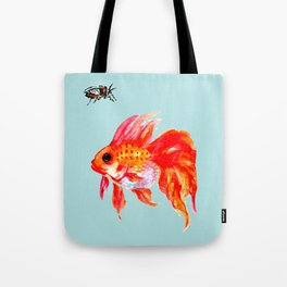 Goldfish and Cicada Tote Bag