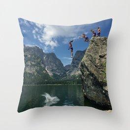 Phelps Lake Throw Pillow