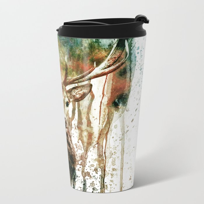DEER IV Metal Travel Mug