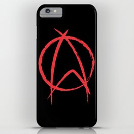 Federation Anarchy iPhone Case