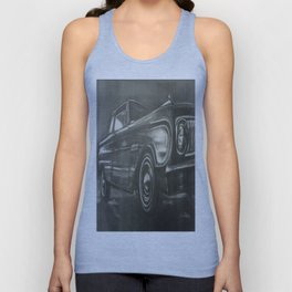 62 Ford Falcon Unisex Tank Top