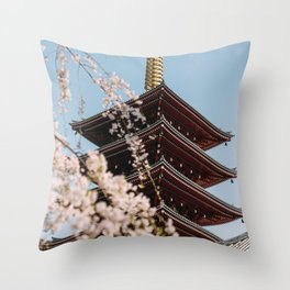 Tokyo 21 Throw Pillow