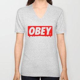 OBEY Bleeding Unisex V-Neck