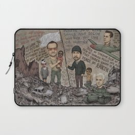 Where Is The Hope And Where Is The Faith And The Love Laptop Sleeve