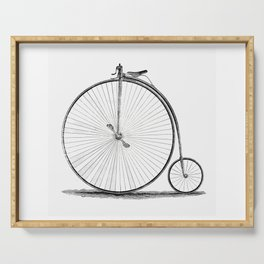 Penny-farthing. Serving Tray