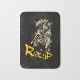 Rise Up - Roaring Lion Revolution Art Bath Mat