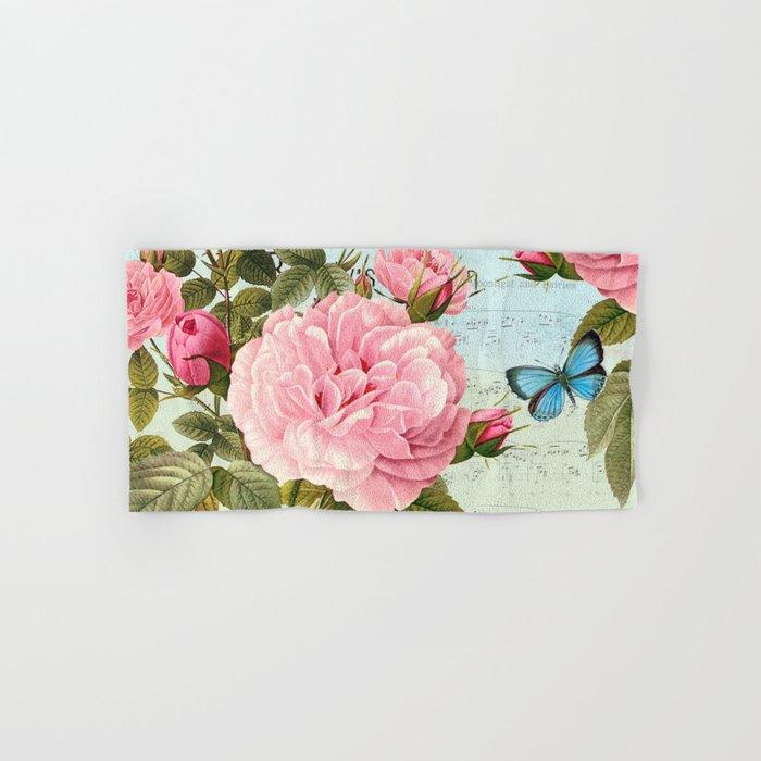 Vintage Flowers #2 Hand & Bath Towel