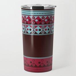 Geometric Spring Texture Travel Mug