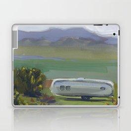 AIRSTREAM, Montana Travel Sketch by Frank-Joseph Laptop & iPad Skin