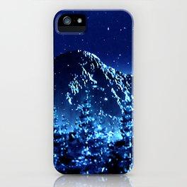 moonlight winter landscape iPhone Case