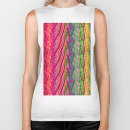 Rainbow Waves  #society6 #decor #buyart Biker Tank