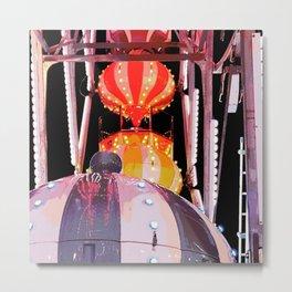 Farris Wheel at Carnival Metal Print