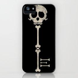 Skeleton Key iPhone Case