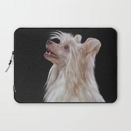 Drawing, illustration Chinese crested dog Laptop Sleeve