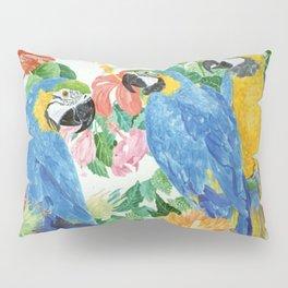 Blue & Gold Macaws Pillow Sham