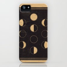 Lunar Phase Chart Imagery Slim Case iPhone SE
