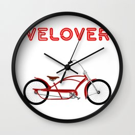 VeLover – Low Rider – June 12th – 200th Birthday of the Bicycle Wall Clock