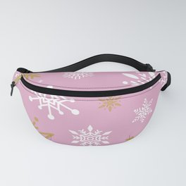 Snow Flakes 15 Fanny Pack