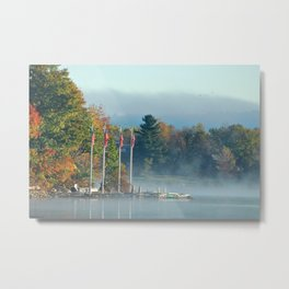 Morning Glory in the Adirondacks Metal Print