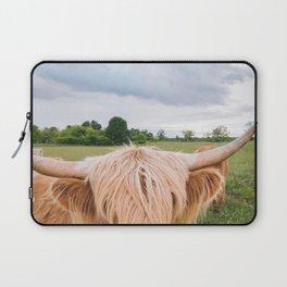 Highland Cow - Longhorns Laptop Sleeve