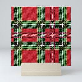 redgreen kilt Mini Art Print