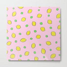 lemon-lime (lavender) Metal Print