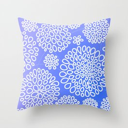 Periwinkle blue or purple Throw Pillow