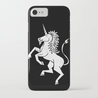 unicorn iPhone & iPod Cases featuring UNICORN by Matthew Taylor Wilson