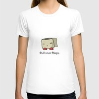 toilet T-shirts featuring Super Toilet Paper! by sinnart