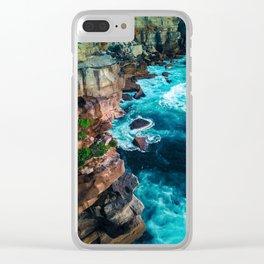 Sydney Coast Line Clear iPhone Case