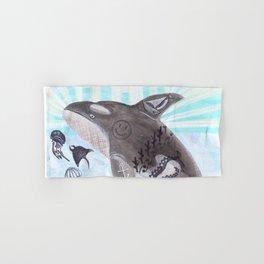 Killer Whale Ishmael Hand & Bath Towel