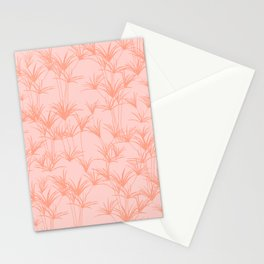 Papyrus Pond in Peachy Pink Stationery Cards