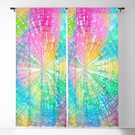 Colorful whirlpool Blackout Curtain