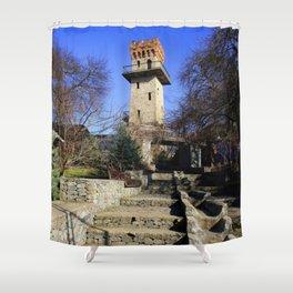 Ancient watchtower. Shower Curtain