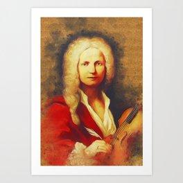 Antonio Vivaldi, Music Legend Art Print