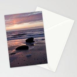Hunstanton Sunset, Norfolk Stationery Cards
