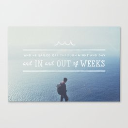 In and Out of Weeks Canvas Print