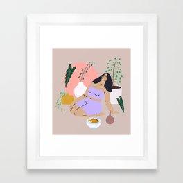 self Framed Art Print