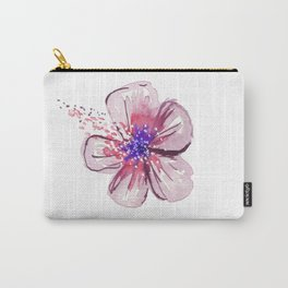 Little Lilac Flower Carry-All Pouch