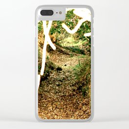 Tunnel Back Home Clear iPhone Case