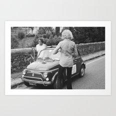 FLORENCE I - ROAD TRIP Art Print