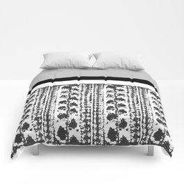 Colorblock Leaves Comforters