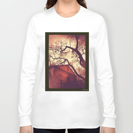 Spooky city sketches  Long Sleeve T-shirt