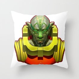 Space Odity Throw Pillow