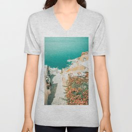 This Way To The Ocean #photography #nature Unisex V-Neck