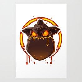 Lava Hound Art Print